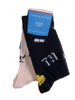 TH GIRLS GRAPHIC SOCK 2P
