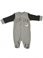JORDAN FOOTED COVERALL