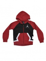 JORDAN DIAMOND FLEECE FZ HOODIE